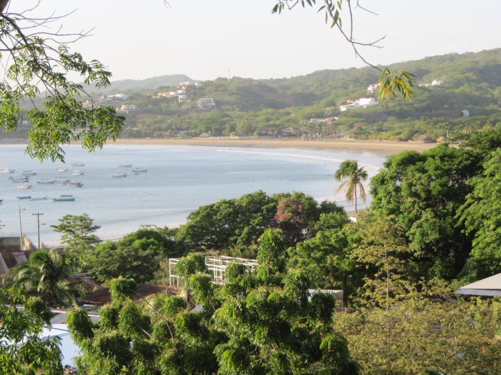 View from our deck at Lobo Lira.