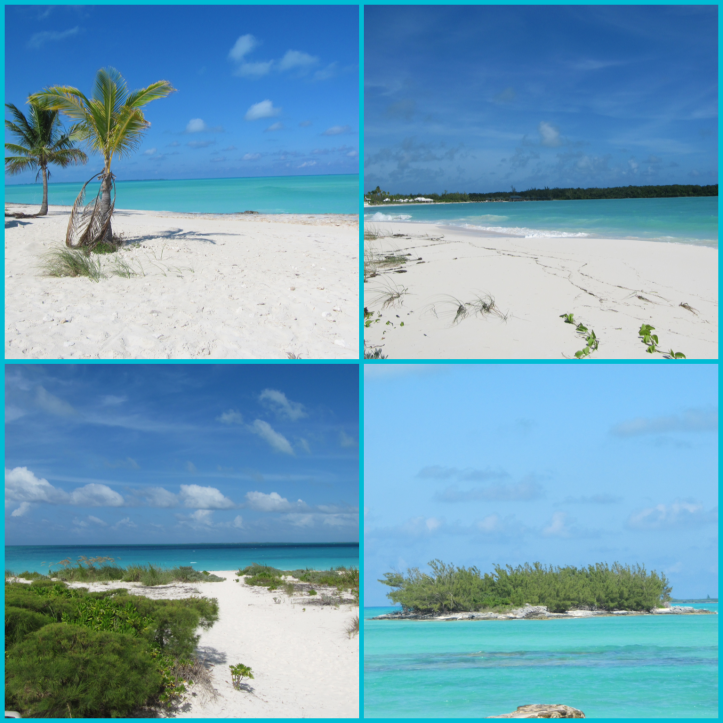 The stunning colors of Treasure Cay beach.