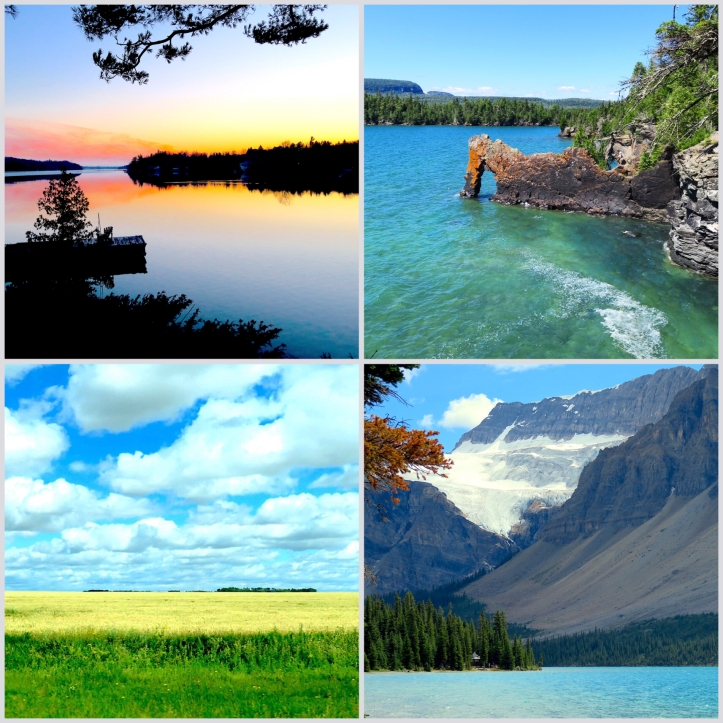 From a week at the cottage with the loons to road tripping across the country, the beauty of Canada just blew us away!